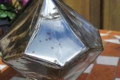 Diamant silber Rosenkugel