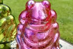 Frosch pink Rosenkugel
