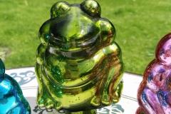 Frosch grün Rosenkugel