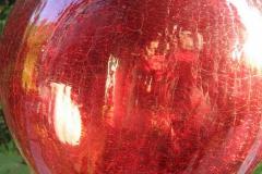 Rot Antik Rosenkugel