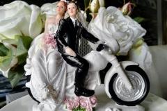 Brautppar Motorrad