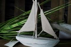 Segelboot Holz