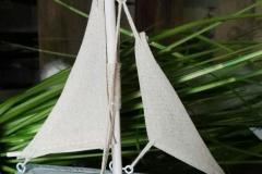 Segelboot maritim Holz