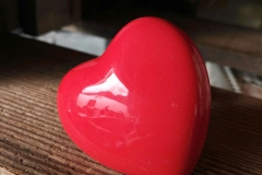 Herz Knopf