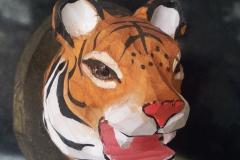Tiger Knopf