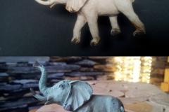 Elefanten Knopf