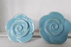 Hellblau Blumen