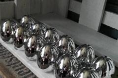 Silberne Eier