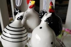 Hühner zum Hängen