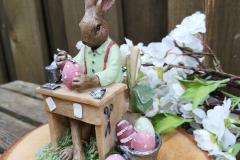 Hasenmann malt Eier