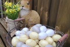 Ostereier zum Hängen