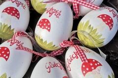 Glückspilz Eier Kunststoff