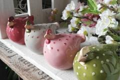 Hühner Keramik Landhaus