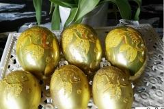 Fisch Kio Eier Gold Ostereier