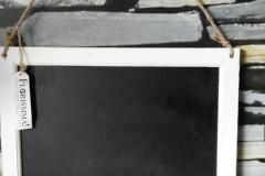 44 x 44 weiß Tafel
