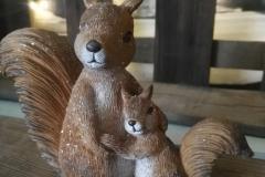 Eichhörnchenfigur