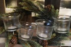 Kerzenschalen Glas